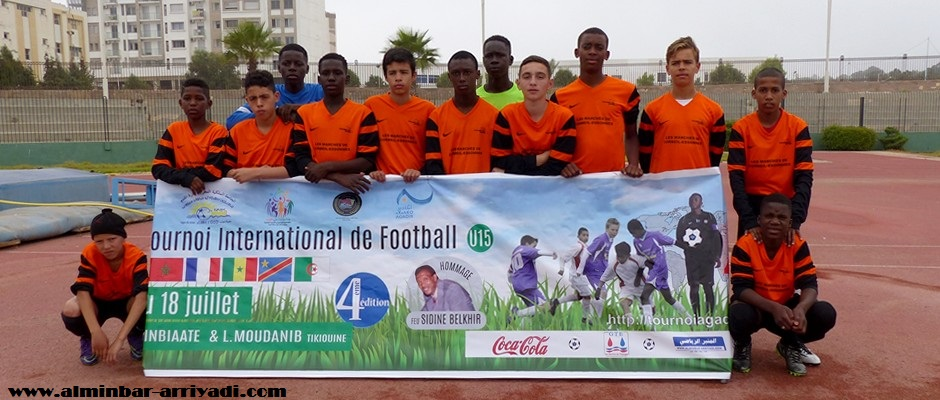 صغار فريق ترومبلان فوت الفرنسي لكرة القدم 15-07-2016