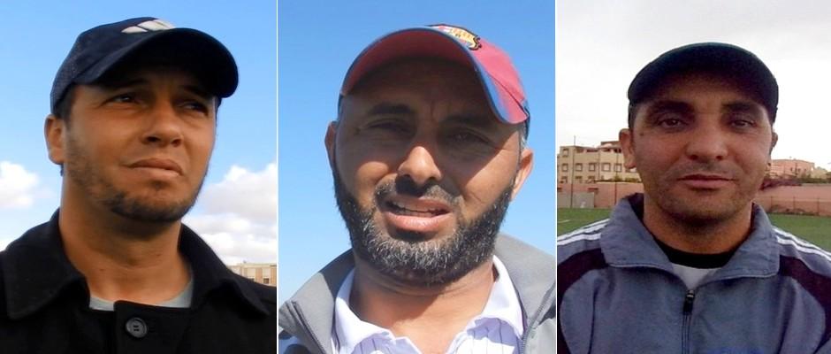 علي توكريح - مصطفى اشباخ و احمد بوكساس