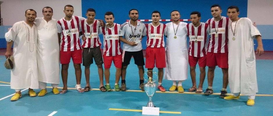 فريق إمزالن الدوري الرمضاني بتافراوت 07-07-2016
