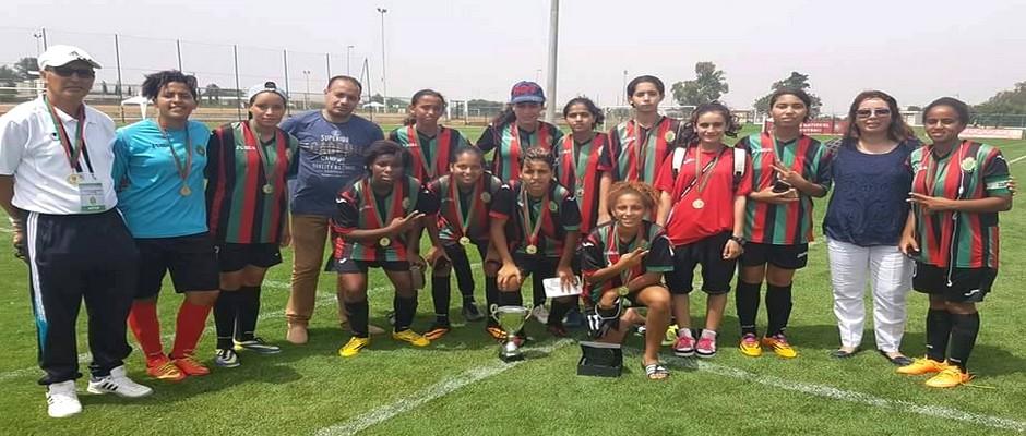 فريق الجيش الملكي لكرة القدم النسائية لأقل من 17 سنة 2016-07-18