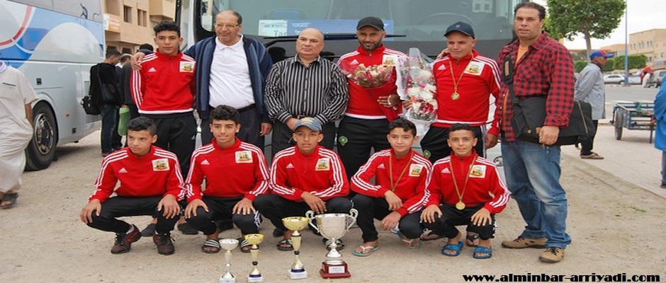 فريق تسقولت بطل النسخة الثانية للدوري الوطني أبطال الحي 05-07-2016