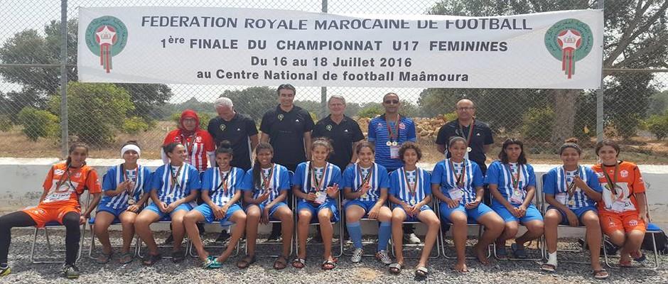 فريق حسنية اكادير لكرة القدم النسائية لأقل من 17 سنة 2016-07-18