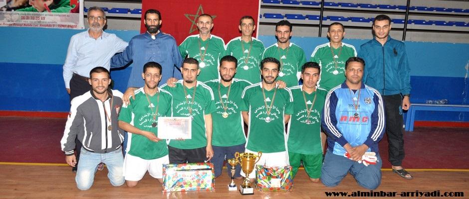 فريق قطاع الصحة وصيف بطل دوري رودا النهضة تيزنيت 2016-07-04