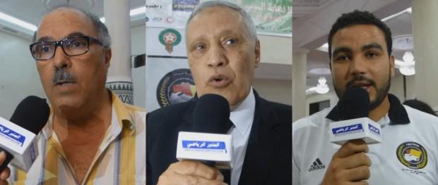 مبارك الجباري - محمد جيد - عبد الله ابو القاسم