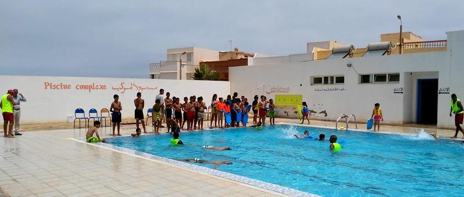مسبح المركب السوسيو ثقافي الفتح بمدينة سيدي افني
