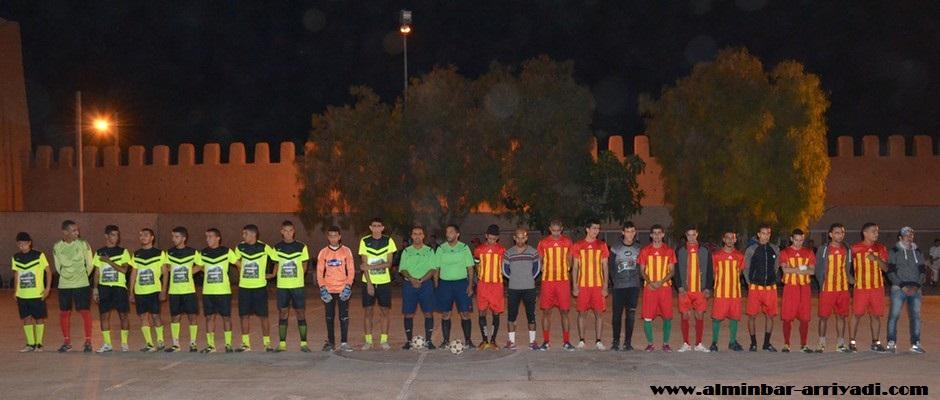 نهائي دوري افاسوفا بملعب مولاي رشيد 2016-07-03