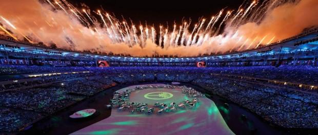 افتتاح أولمبياد ريو ديجانيرو 2016