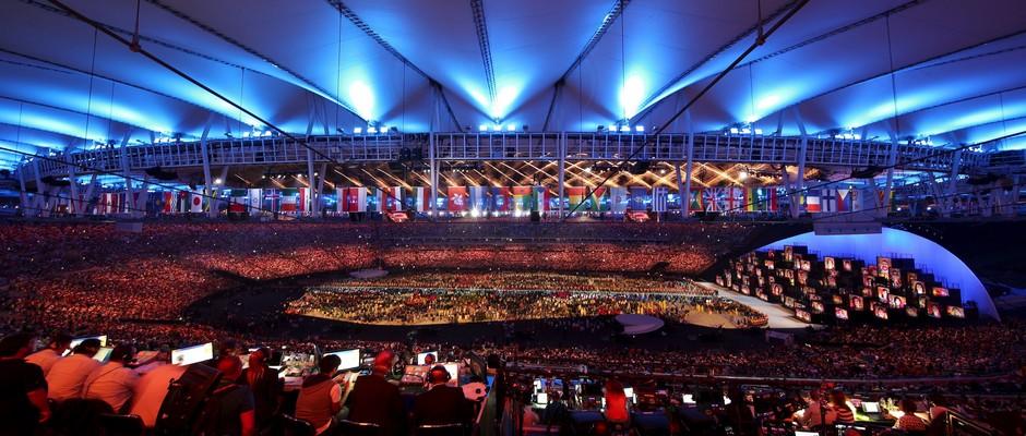 افتتاح الألعاب الأولمبية ريو دي جانيرو 2016