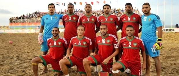المنتخب الوطني المغربي لكرة القدم الشاطئية 2016