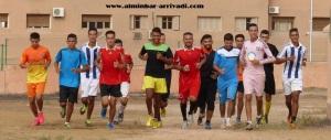تداريب أمل تيزنيت لكرة القدم 16-08-2016