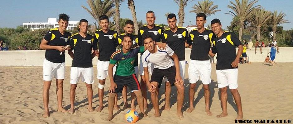 جمعية الولفة القليعة لكرة القدم الشاطئية 12-08-2016