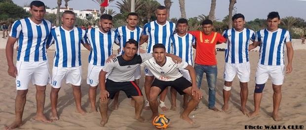 جمعية الولفة القليعة لكرة القدم الشاطئية 14-08-2016