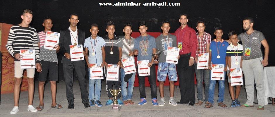 حفل سبورتينغ أكادير لكرة القدم 20-08-2016