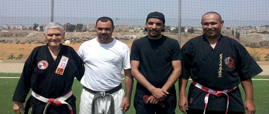 سلام الحجام و محمد سلام و عبد القادر إبراهيمي