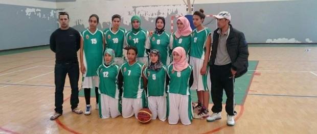 فريق امل تدارت انزا لكرة السلة إناث 2016