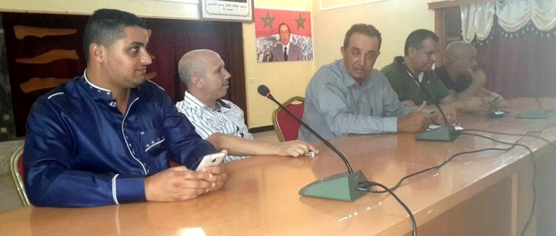 لجنة الانقاذ - اتحاد شباب سيدي افني