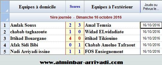 football-championnat-4div-ligue-souss-2016-2017-g4_j1