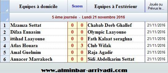 futsal-2eme-division-nationale-sud-2016-2017_j5