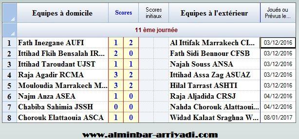 resultats-division-amateur-2-j11