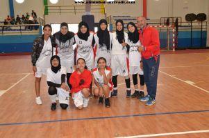 Basketball cadettes Jeux Scolaires championnat inter-ligues Tiznit 17-03-2017