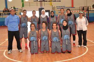 Basketball cadettes Jeux Scolaires championnat inter-ligues Tiznit 17-03-2017_06