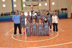 Basketball cadettes Jeux Scolaires championnat inter-ligues Tiznit 17-03-2017_07