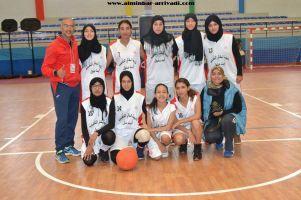 Basketball cadettes Jeux Scolaires championnat inter-ligues Tiznit 17-03-2017_08