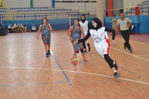 Basketball cadettes Jeux Scolaires championnat inter-ligues Tiznit 17-03-2017_14