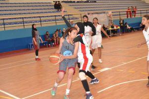Basketball cadettes Jeux Scolaires championnat inter-ligues Tiznit 17-03-2017_24