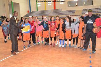 Basketball cadettes Jeux Scolaires championnat inter-ligues Tiznit 17-03-2017_34