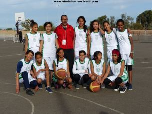 Basketball Minimes Jeux Scolaires championnat inter-ligues Tiznit 17-03-2017