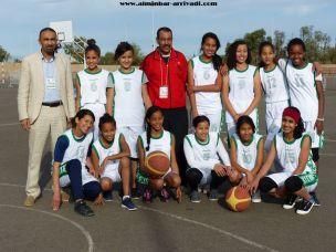 Basketball Minimes Jeux Scolaires championnat inter-ligues Tiznit 17-03-2017_02