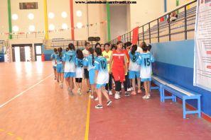 Handball Feminin ittihad Ait Melloul – Manar Elqods 20-05-2017_16