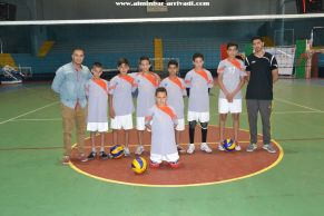 Volleyball Minimes Chabab Biougra - Najah Souss 04-06-2017